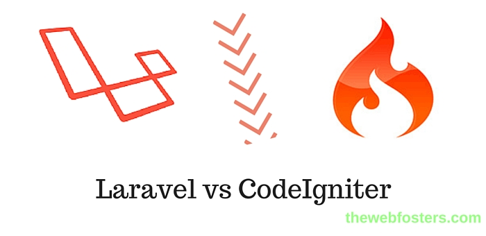 comparison php frameworks laravel vs codeigniter