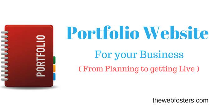 Creating portfolioWebsite ForYour Business