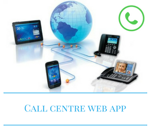 Call centre web app