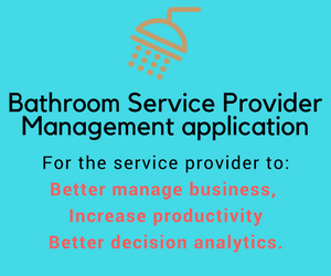 CASE STUDY] - (Laravel) Bathroom Service Provider's Management