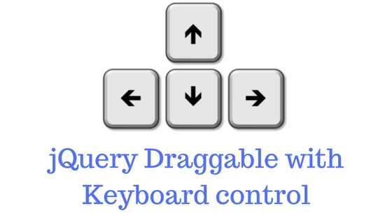 jQuery Draggable with keyboard controls