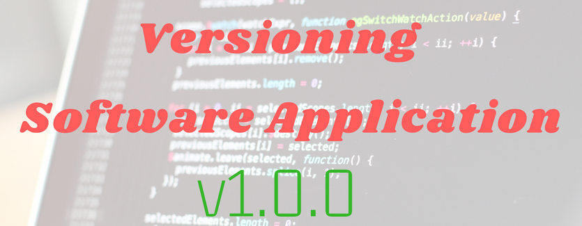 Versioning-software-applications